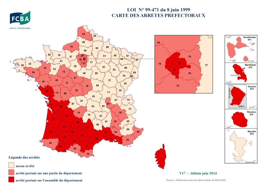 termites France juin 2014