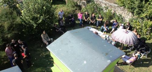 Moment de convivialité de l'ensemble des salariés et sensibiliser sur l'impact de l'abeille sur l'environnement...