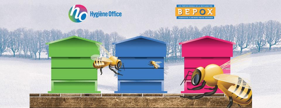 Bulletin d'information des abeilles Bepox et Hygiène Office - Hygiène Office