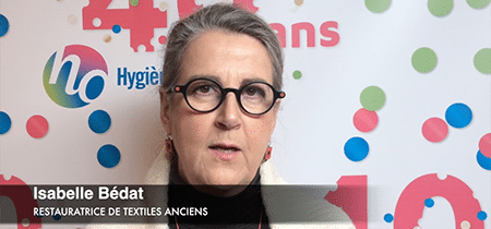 Interview d'Isabelle Bédat, restauratrices de textiles anciens