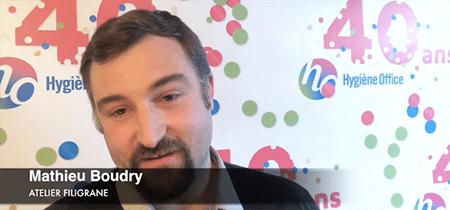 Interview de Mathieu Boudry, atelier Filigrane