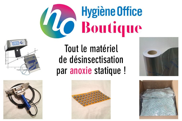 Hygiène Office & l'anoxie statique : formation, vente de matériel, préparation de poches sur mesures